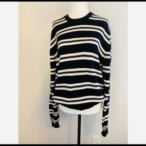 Brooks Brothers Women's Stripped Pullover Sweater